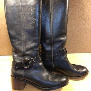 "Coach ""Carolina"" Leather Riding Boots"